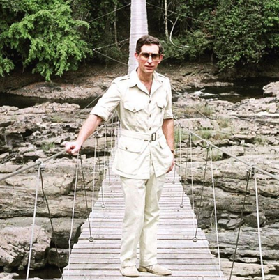 "Prince Charles' throwback safari picture<span style=""white-space:pre;"">	</span>"