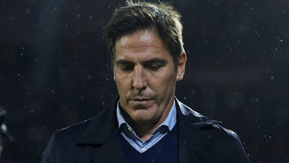Sevilla FC sack coach Eduardo Berizzo a week after return from prostate cancer