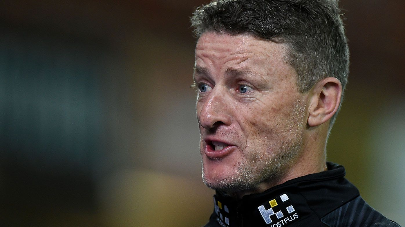 Richmond coach Damien Hardwick compares Noah Balta to a 'young Alex Rance' after dismantling Dogs