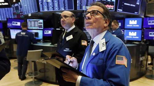 Stocks open sharply lower on Wall Street
