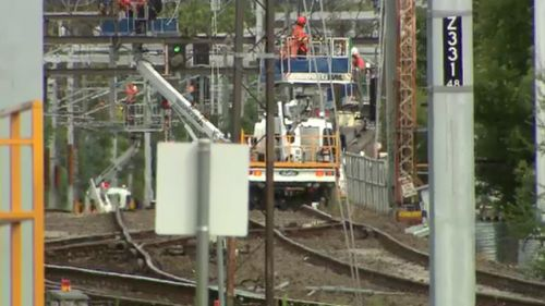 The construction blitz is now underway. (9NEWS)