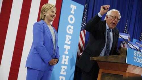 Sanders endorses Clinton for White House