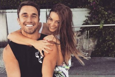"""It looks like Lisa Hyde has nothing to hide now!<br/><br/><i>The Bachelor</i> runner-up has shared a loved-up Instagram shot with rumoured new boyfriend, model and <i>Travel Series</i> host Tyson Mayr, all but confirming their newfound romance.<br/><br/>'Perfect afternoon by the river with this cutie,' the 27-year-old Sunshine Coast fashion designer wrote, tagging their location as the Brisbane River.<br/><br/>Neither have spoken about their relationship status, but they've been posting very suss selfies over recent weeks. If you ask us, it's a done deal... view their shots.<br/><br/>Author: <b><a target=""""_blank"""" href=""""http://twitter.com/TheAdamBub"""">Adam Bub</a></b>"""