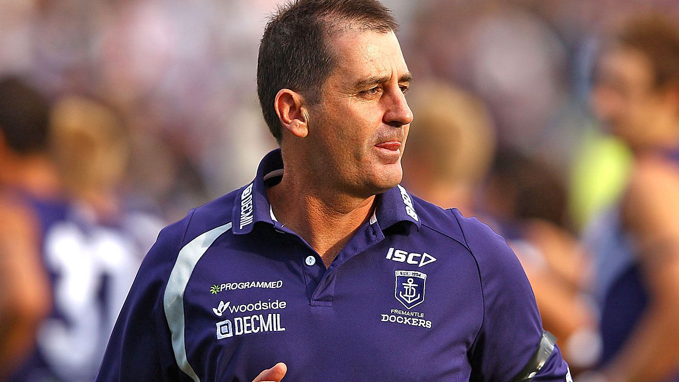 Ross Lyon was coach of the Dockers