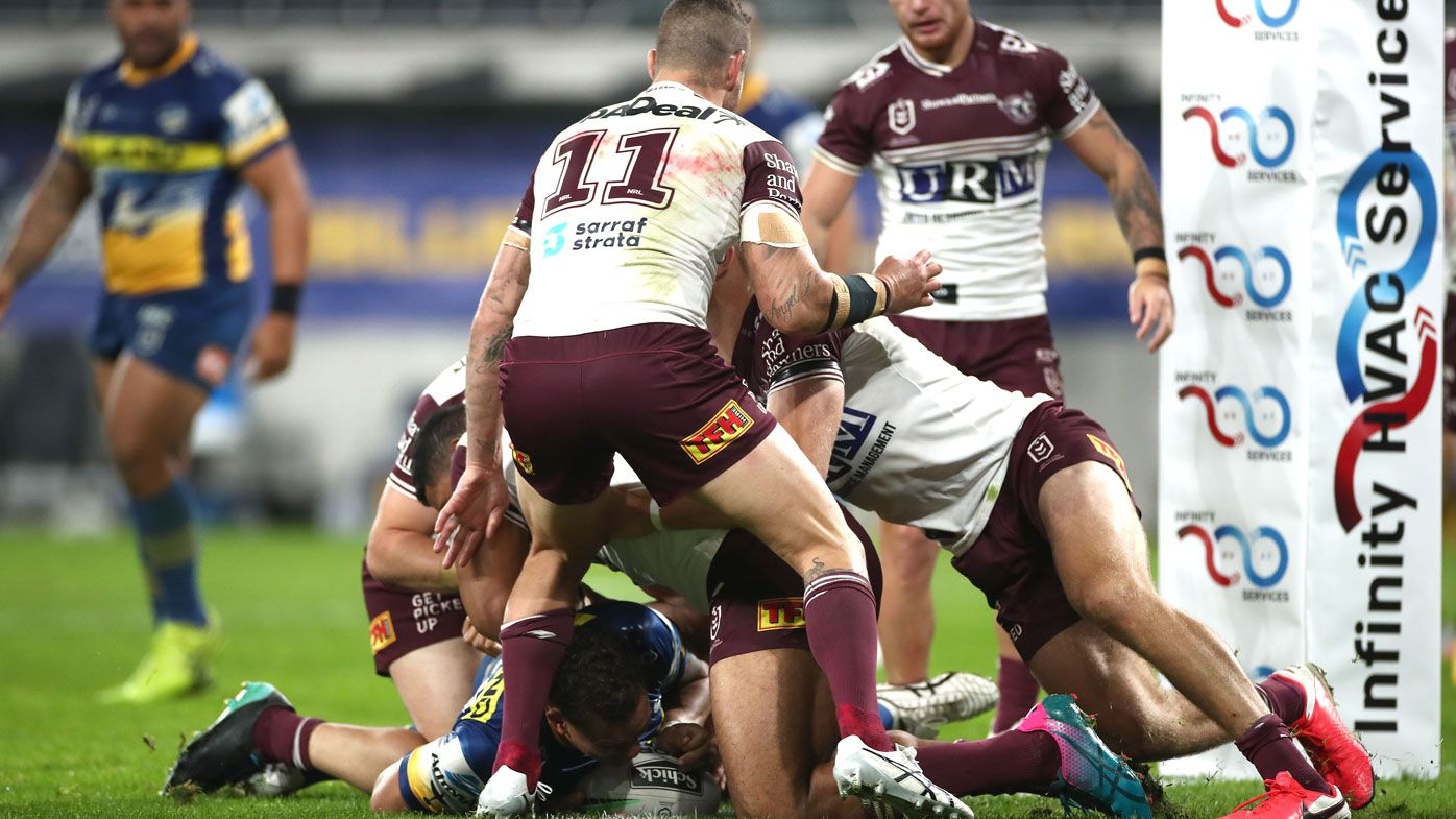 'It should have been a try': NRL confirms unlucky Sea Eagles were 'robbed'