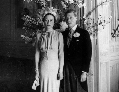 Edward VIII and Wallis Simpson.