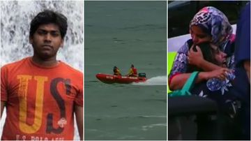 Junaid Mohd Abdul is still missing, feared drowned off Moonee Beach, north of Coffs Harbour.