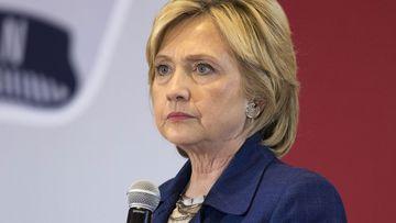 Hillary Clinton. (AAP)