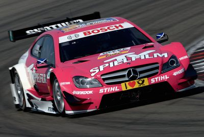 She moved to Formula Three before joining the German Touring Car series, DTM. (Getty)