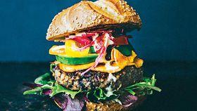 Truffle burger queen