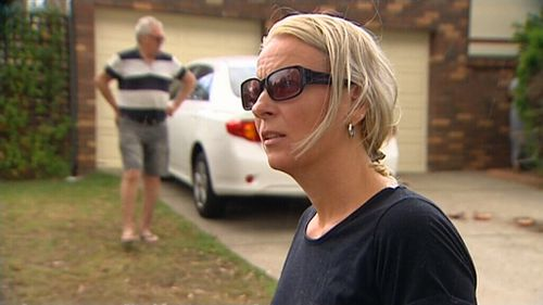 The female homeowner says the party should never have happened. (9NEWS)