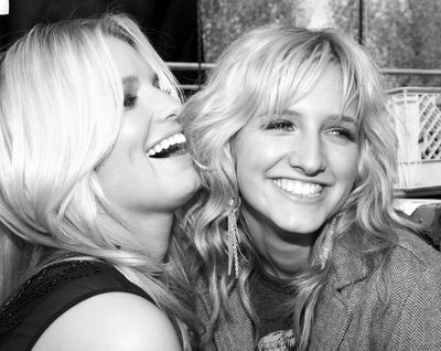 Jessica and Ashlee Simpson - sisters and dear friends.