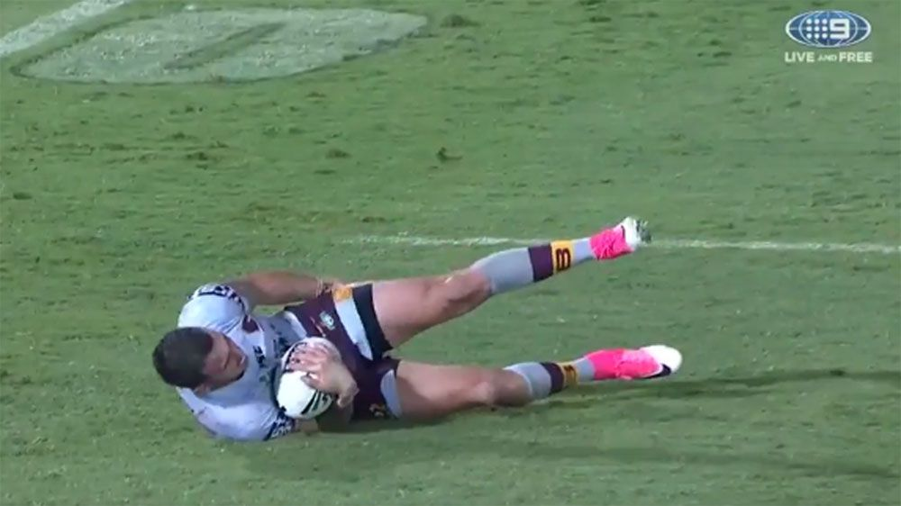 Brisbane Broncos sweat on injured trio for finals after NRL win over Cowboys