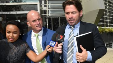 Ex-Kangaroos star accused of throwing woman into fence