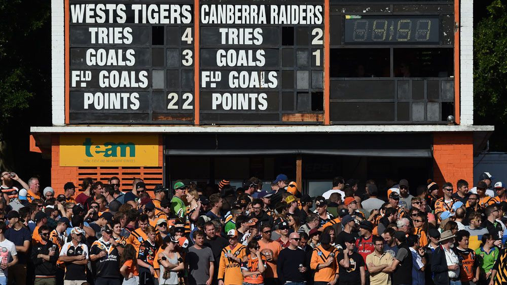 The future of grounds like Leichhardt Oval is looking more solid. (AAP)