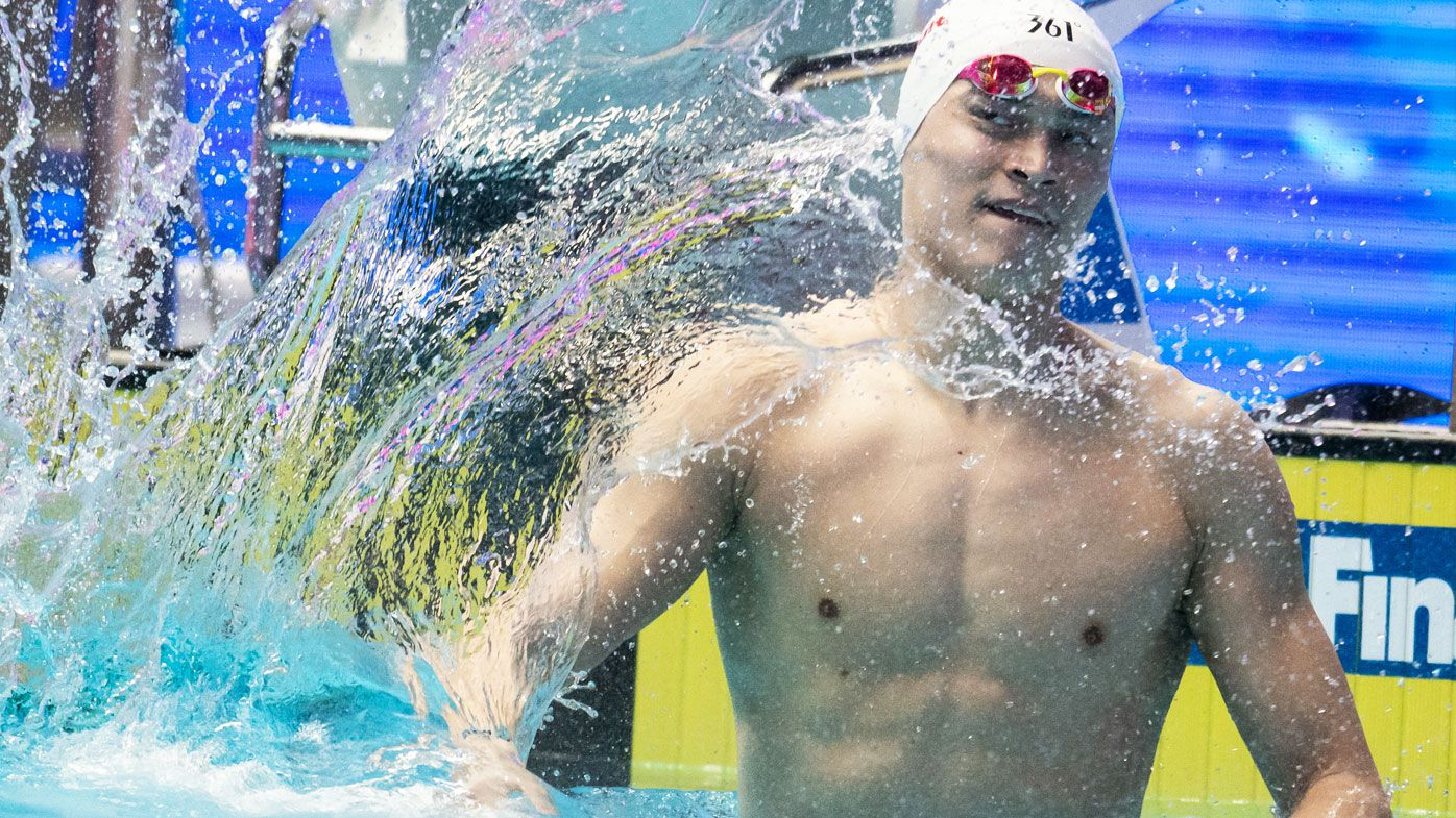 Sun Yang from China features in the men's 200m World Championship Final (Getty)