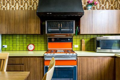 <strong>A picture-perfect retro kitchen</strong>