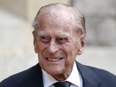 Prince Philip in July 2020