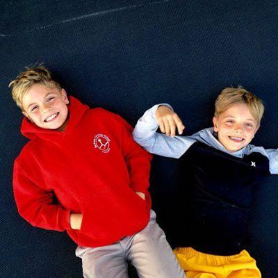 Jayden and Sean Federline