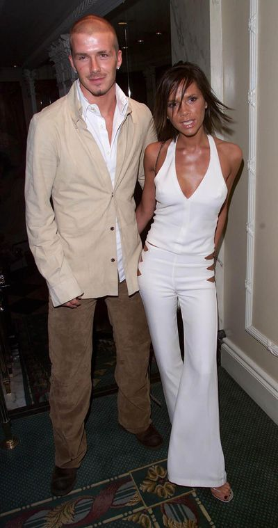 <p><strong>Tan For Two</strong></p> <p> Victoria and David Beckham at the Silver Clef Awards held at the Intercontinental Hotel on May 23, 2001 in London.</p>