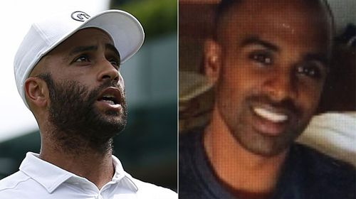 James Blake (left) and actual police target Jermaine Grey. (AAP/Supplied)