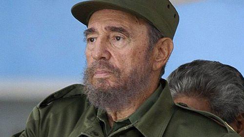 Late Cuban leader Fidel Castro. (AAP)