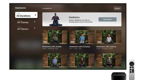 There were more than 50 meditations, ranging from five to 20 minutes, available at launch.