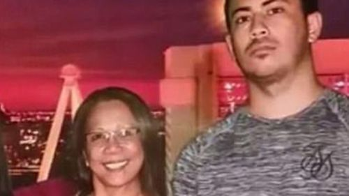Mr Knights with his aunt, Marilou Danley, just a few months ago. (9NEWS)