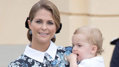 Prince Nicolas and mother Princess Madeleine