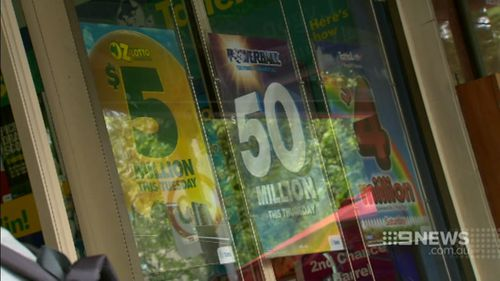 Mr Baron said the winnings were from a ticket he purchased separate from the syndicate. (9NEWS)