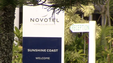 The Twin Waters Novotel Resort on the Sunshine Coast cancelled the accomodation of the entire wedding party to make room for the NRL.