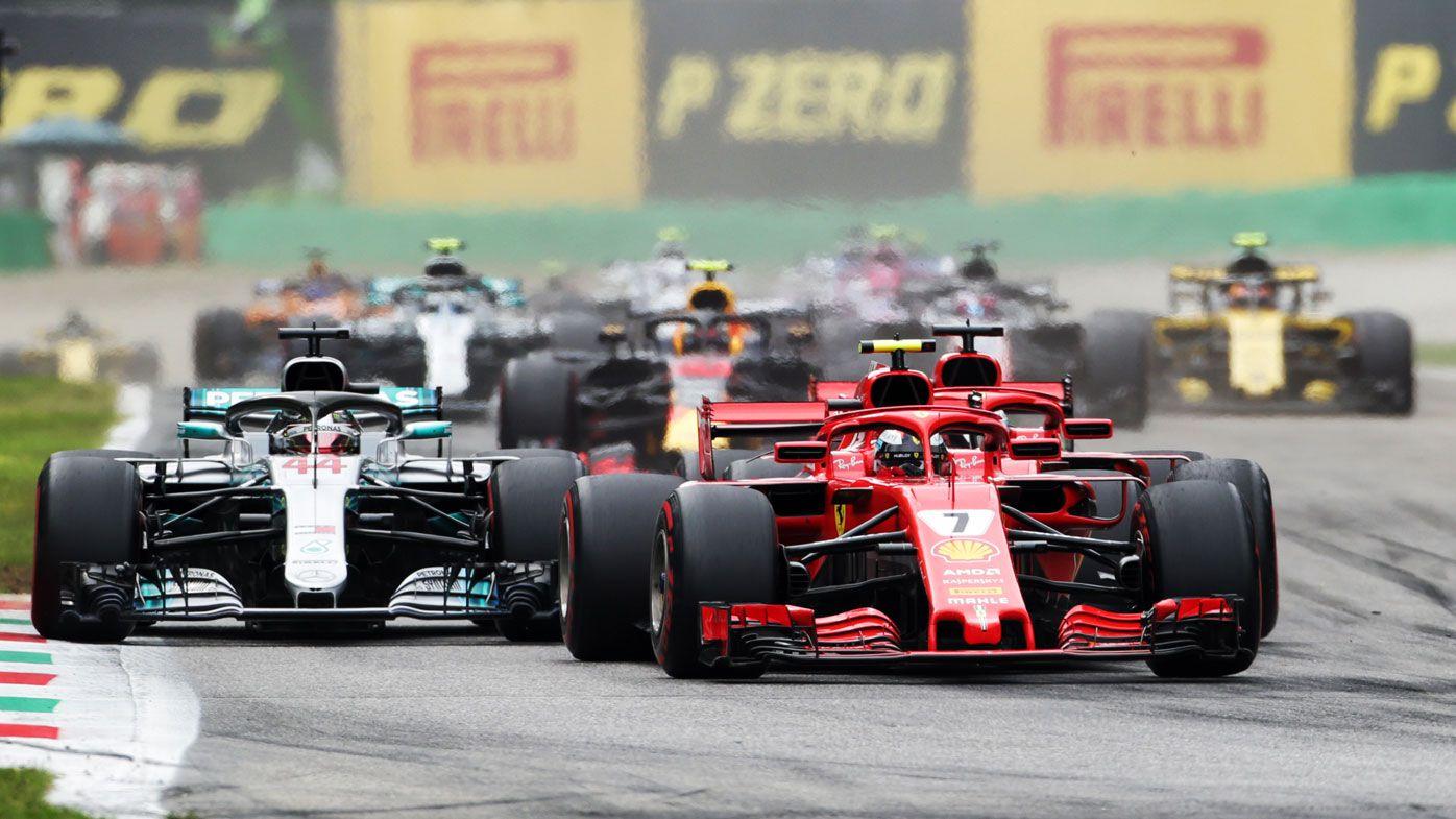 Mercedes' Lewis Hamilton wins Italian GP as Ferrari's Sebastian Vettel spins
