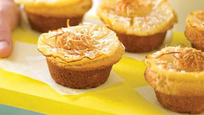 "<a href=""http://kitchen.nine.com.au/2016/05/13/11/10/pineapple-muffins"" target=""_top"">Pineapple muffins</a> recipe"