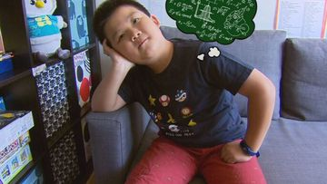 Could this kid be the next Guinness World Record holder?