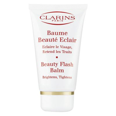 """<p><a href=""""https://www.mecca.com.au/clarins/beauty-flash-balm/I-009663.html"""" target=""""_blank"""" title=""""Clarins Beauty Flash Balm, $65"""">Clarins Beauty Flash Balm, $65</a><br /> <br /> This balm delivers immediate radiance to tired, stressed skin and provides a luminous complexion in seconds</p>"""