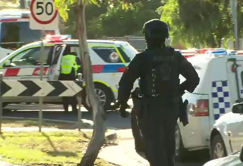 Police were called around 8.30am to reports of a domestic violence situation in Tullamarine. (9NEWS)