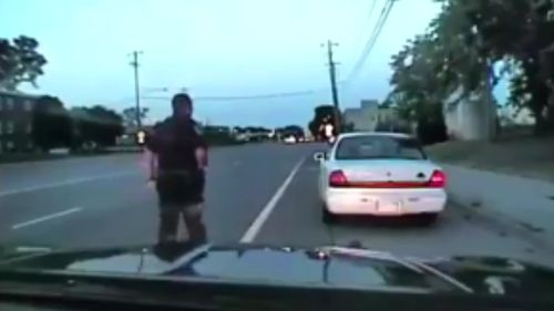The video includes footage of the police shooting of Philando Castile.