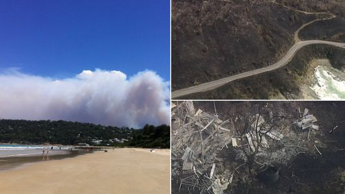 Kennett River, Grey River and Wongarra to be evacuated tomorrow with fears bushfire could flare up again
