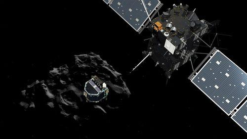 Philae comet probe lander wakes up after months asleep