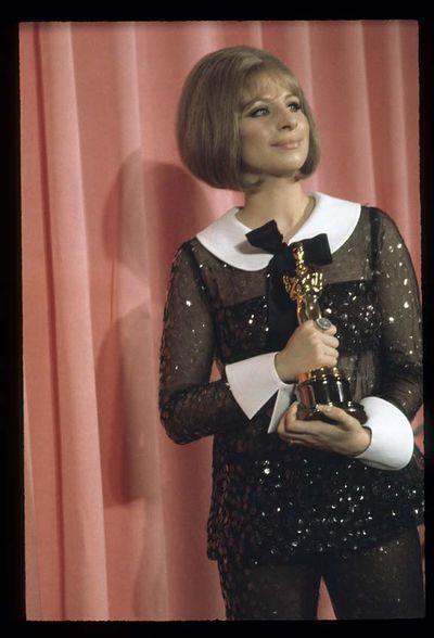 Barbra Streisand at the 41st Annual Academy Awards