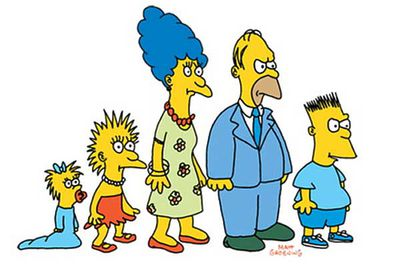 The family looked distinctly different when when they made their TV debut on <i>The Tracey Ullman Show</i> in 1987 — legend holds that Matt Groening sketched the crude characters while waiting for a meeting with the Fox network. <br/><br/>Fortunately, the family looked (more or less) the way they do today by the time they scored their own show in 1989.