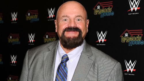 WWE ring announcer Howard Finkel, pictured here in 2014, has passed away at the age of 69.