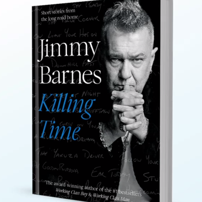 Jimmy Barnes' new book 'Killing Time'.