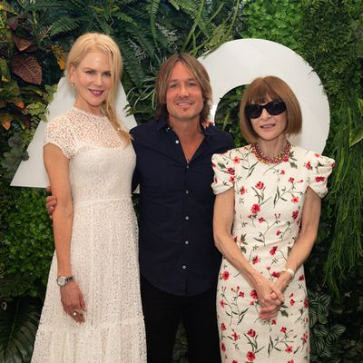 Nicole Kidman, Keith Urban and Anna Wintour