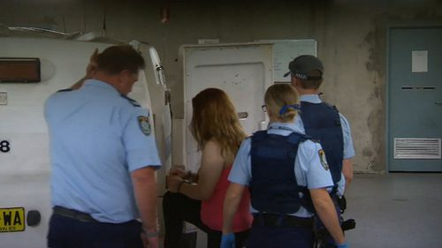 A 22-year-old woman has been charged with drug related offences and will appear in court today. (9NEWS)