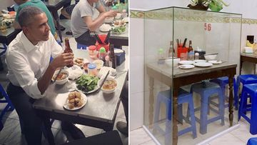 Vietnam restaurant preserves Barack Obama's dinner table