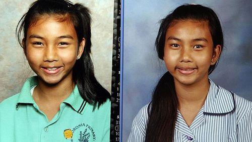 School pictures of missing Victorian teenager Siriyakorn 'Bung' Siriboon. (Supplied)