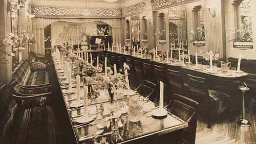 The Paragon Banquet Hall in 1938.