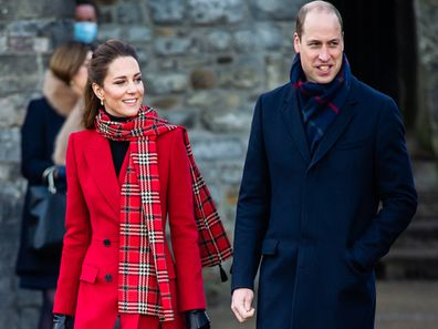 The Duke and Duchess of Cambridge in Scotland