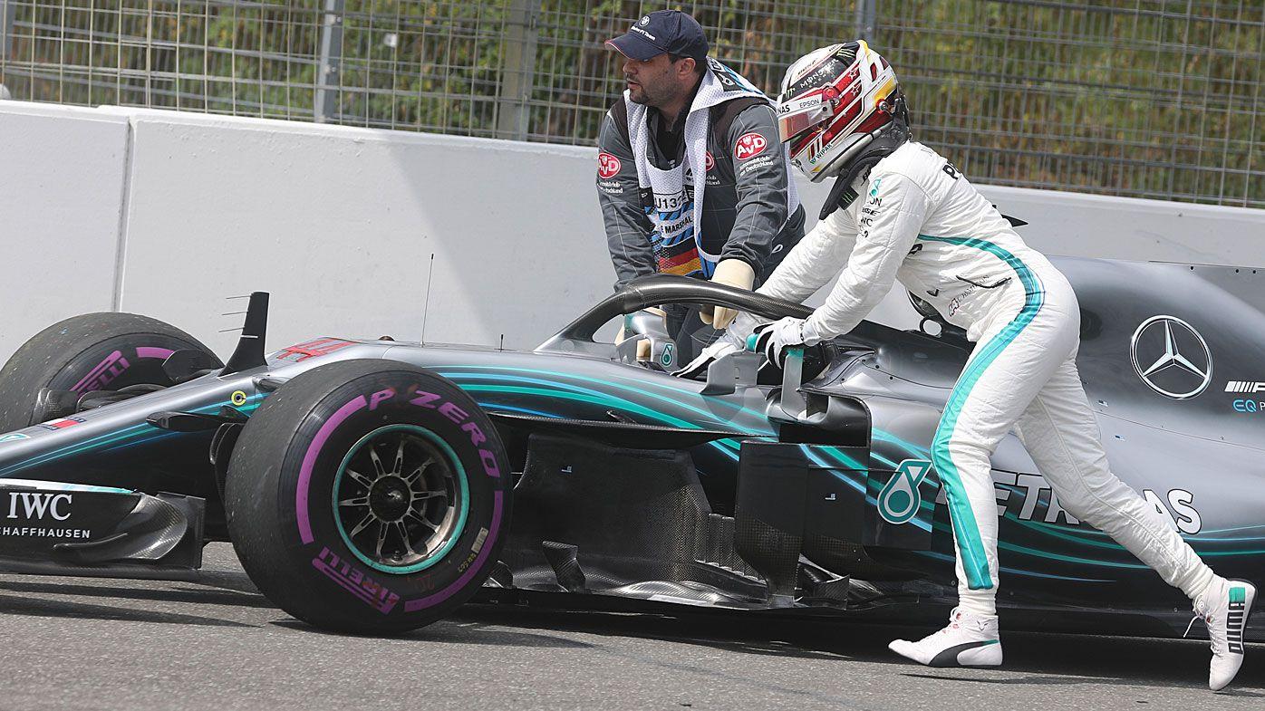 Sebastian Vettel snags German Grand Prix pole, Lewis Hamilton's Mercedes breaks down